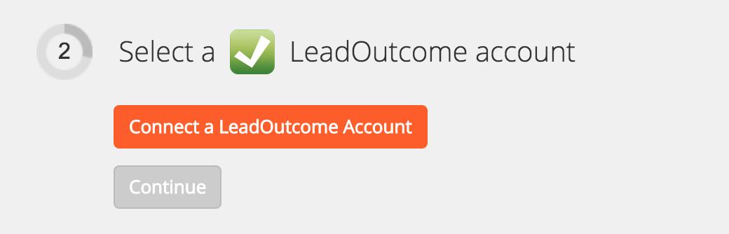 Connect your LeadOutcome account to Zapier