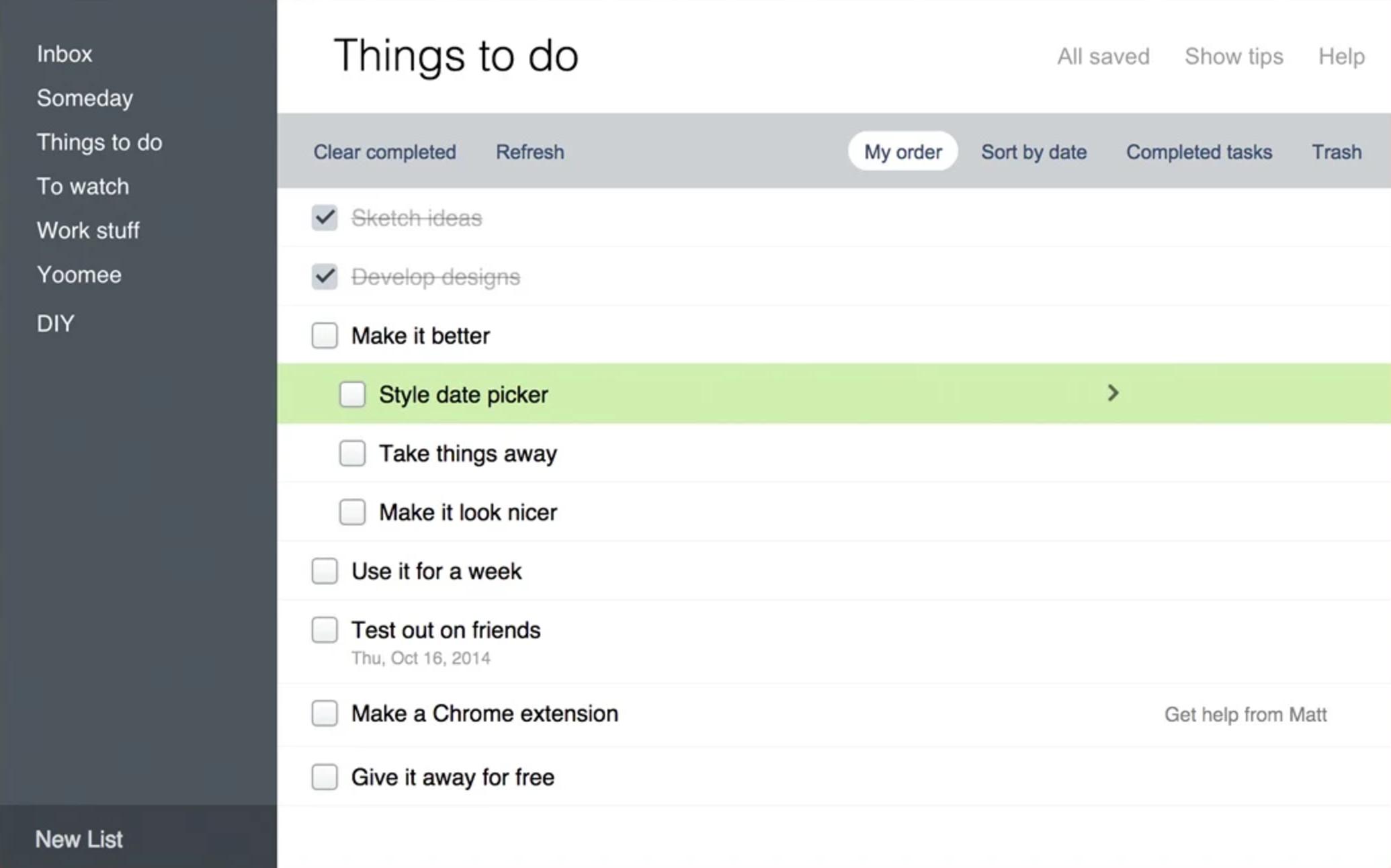Better Google Tasks