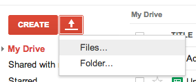 Real Google Drive Files