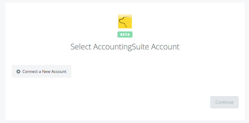 Click to connect AccountingSuite