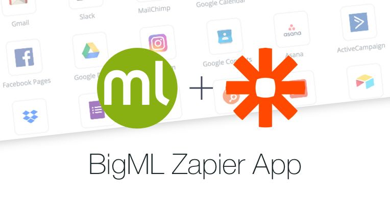 BigML home page