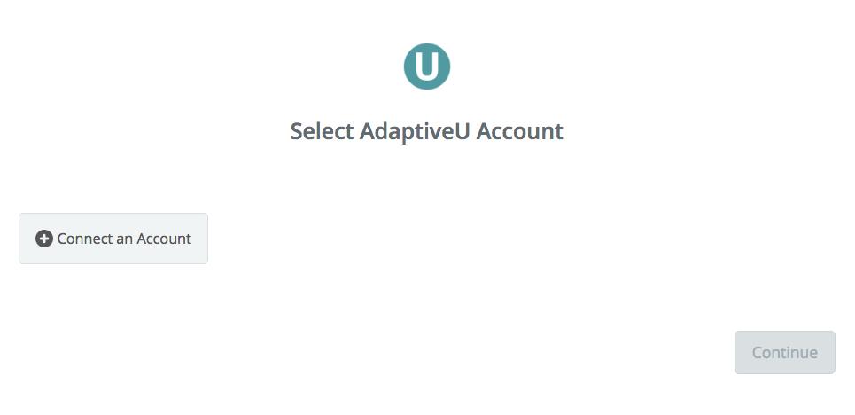 Click to connect AdaptiveU