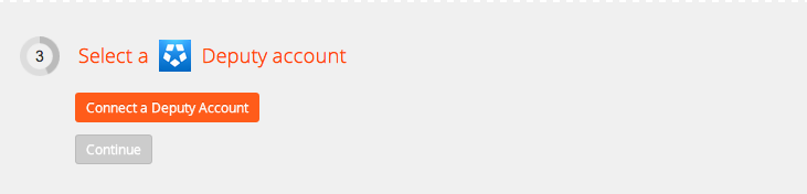 Connect your Deputy account to Zapier