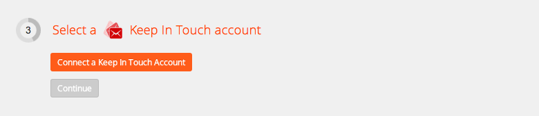 Connect your Keep In Touch account to Zapier