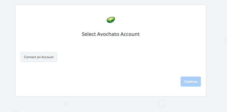 Click to connect Avochato