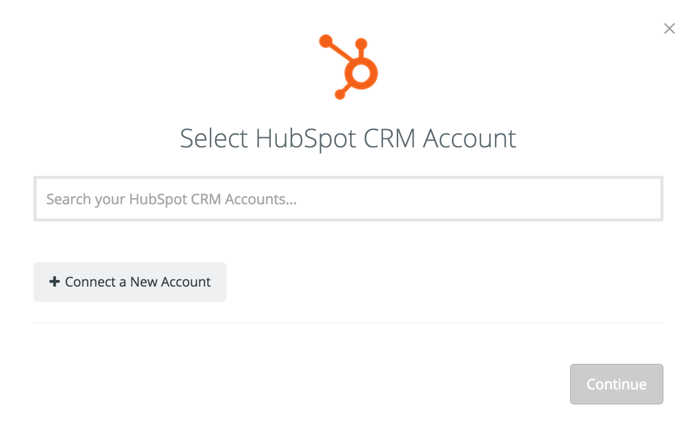 Connect your HubSpot
