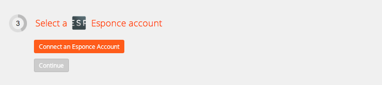 Connect your Esponce account to Zapier
