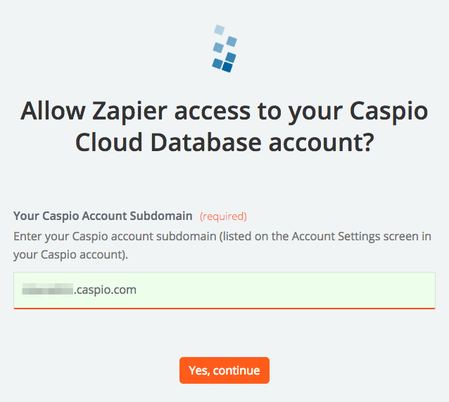 Login to Caspio Cloud Database