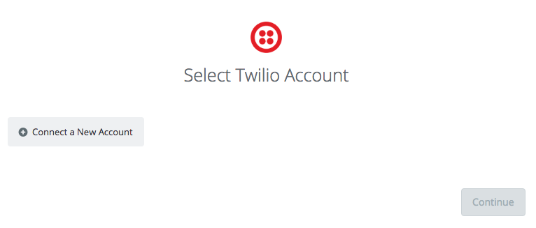 Connect a new Twilio account to Zapier