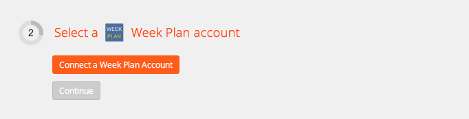 Connect your Week Plan account to Zapier