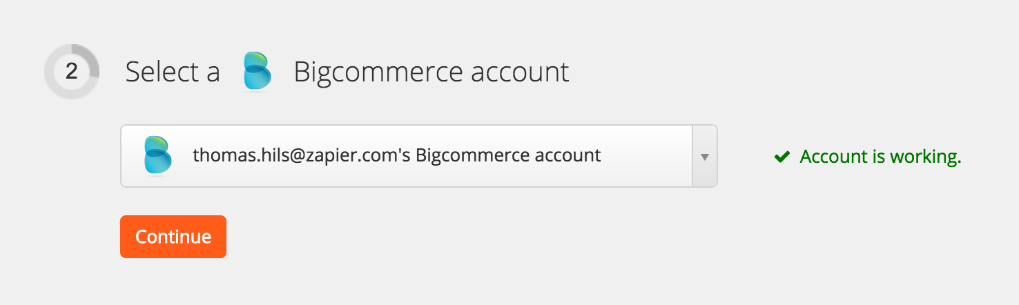 BigCommerce Account Test