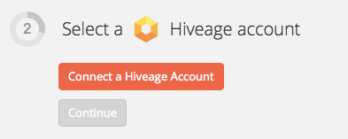 Connect Hiveage account