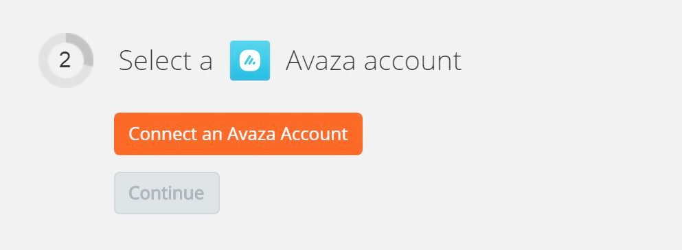 connect to Avaza