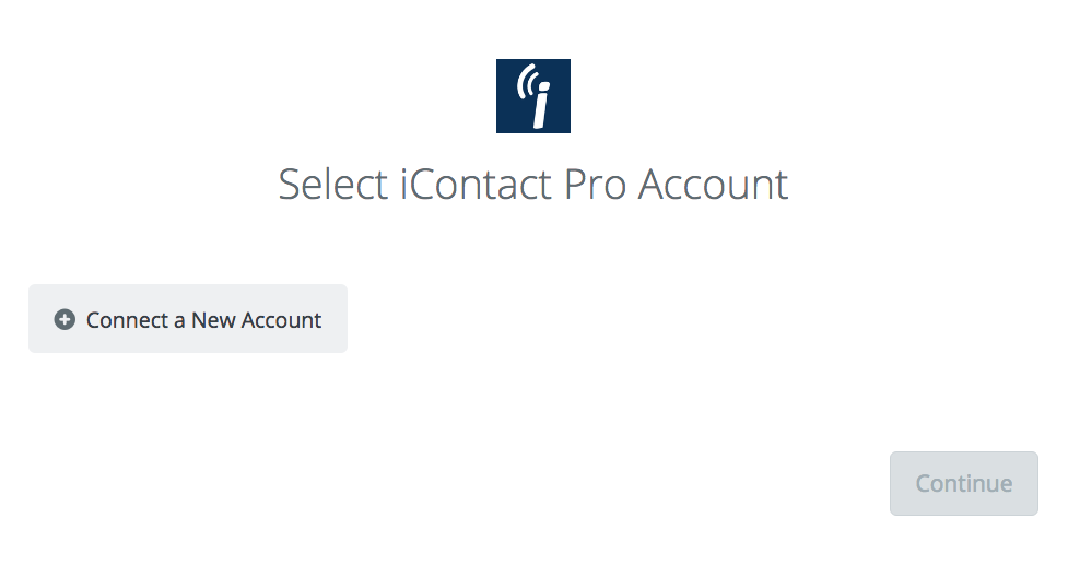 Click to connect iContact Pro