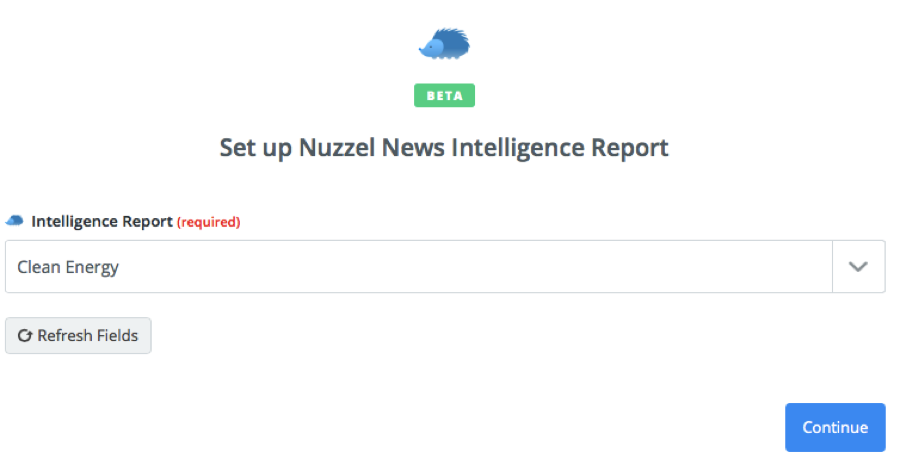 Nuzzel News connection successful