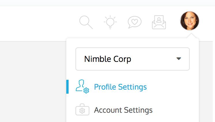ProdPad Account Settings