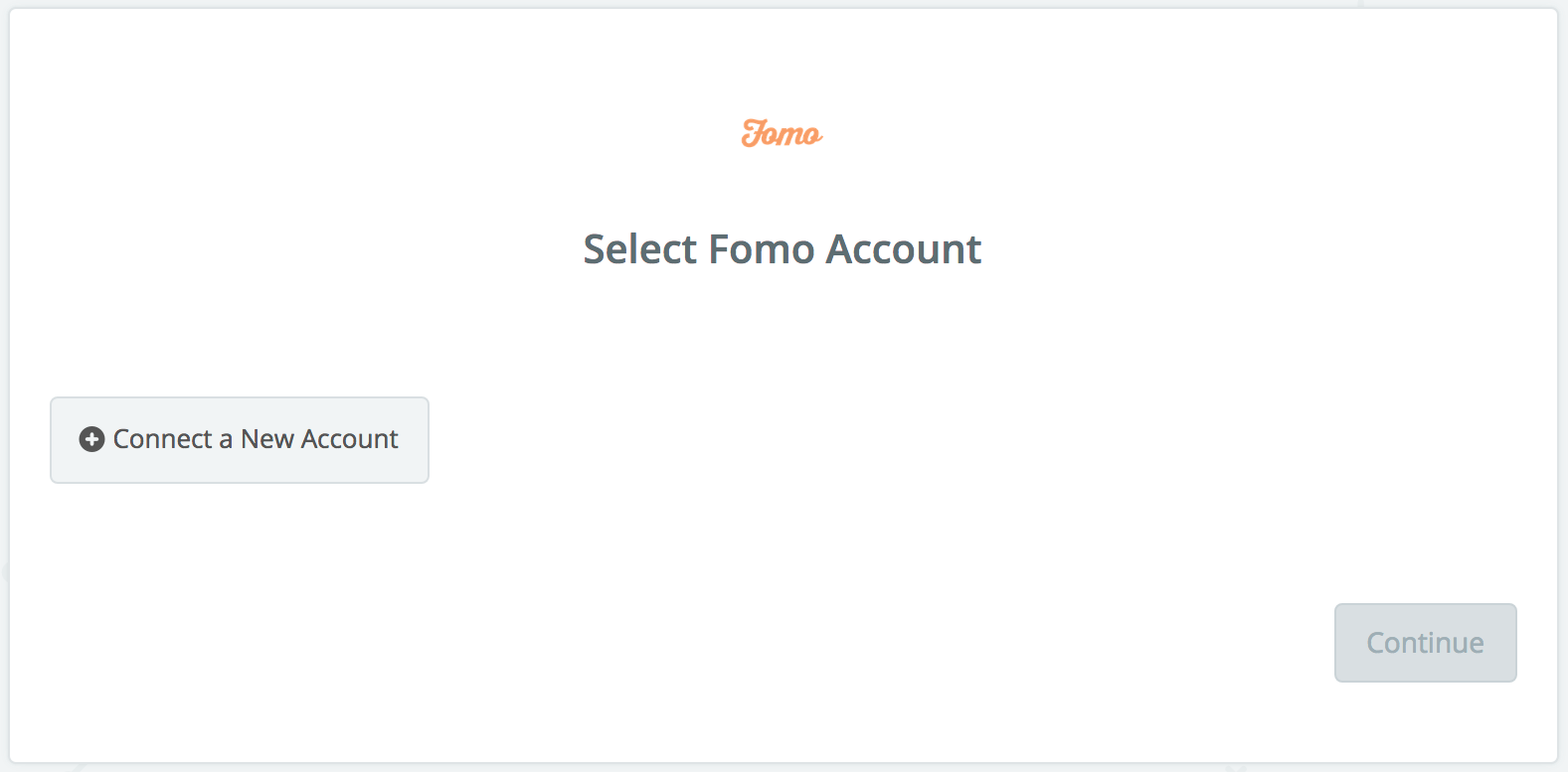 Click to connect  Fomo