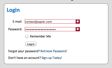 Log into your WebMerge account