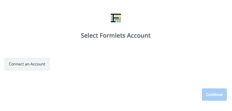 Click to connect  Formlets