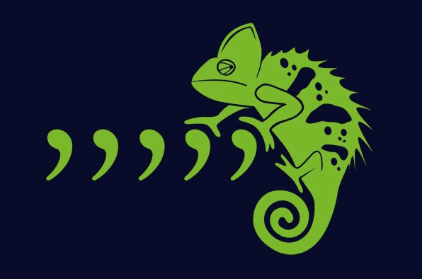 comma chameleon