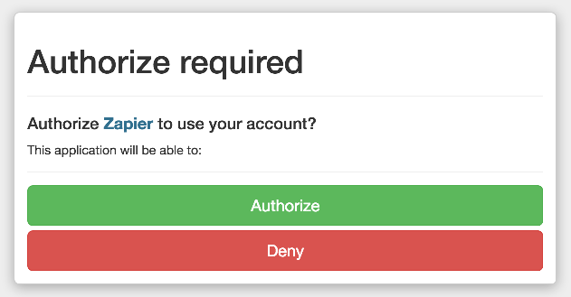 Authorize ClickFunnels on Zapier