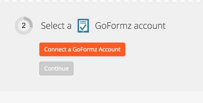 Click to connect GoFormz