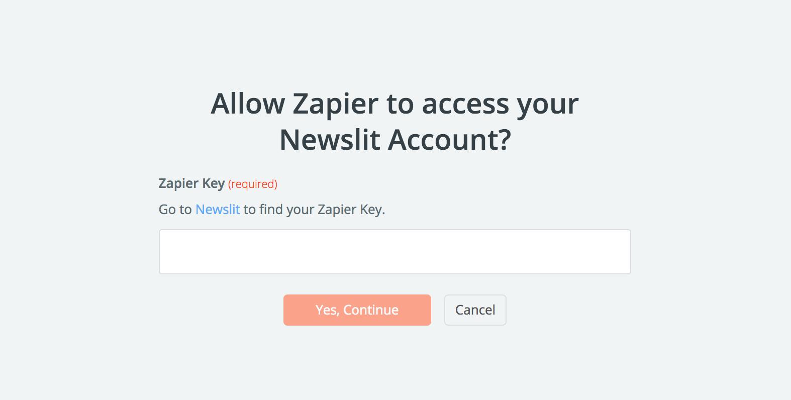 Newslit API Key