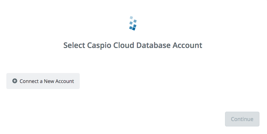 Click to connect Caspio Cloud Database