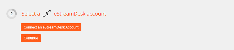 Connect your eStreamDesk account to Zapier