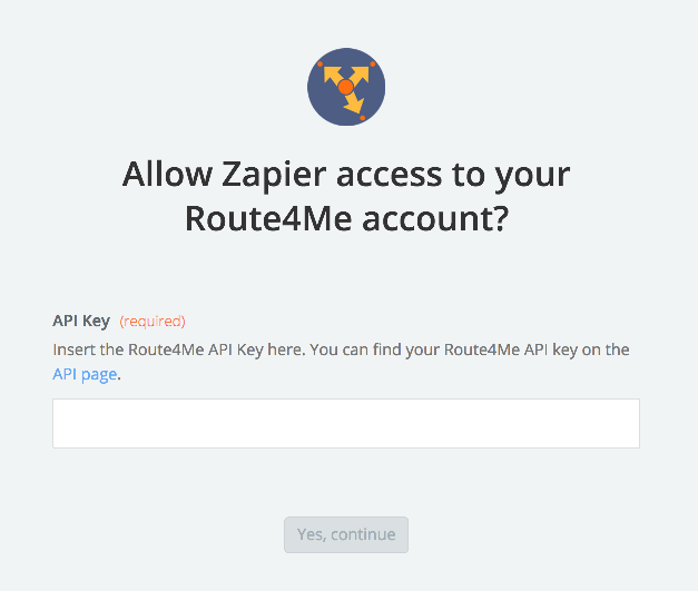 Route4Me API Key