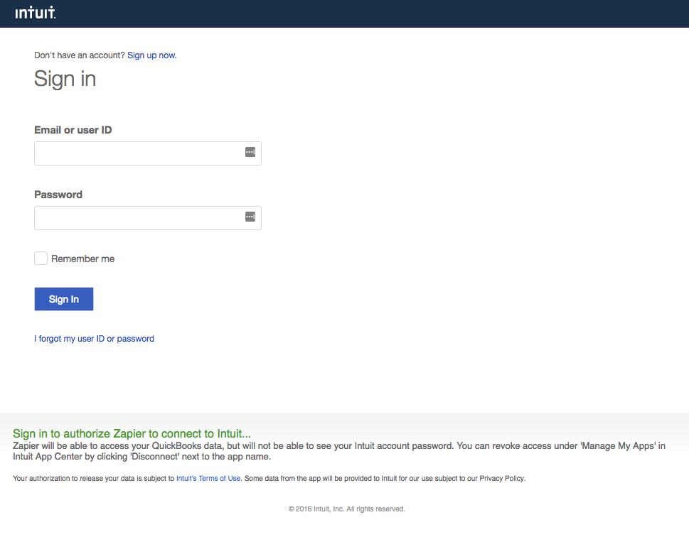 QuickBooks Online - Integration Help & Support   Zapier