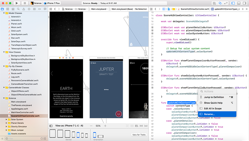 Xcode screenshot