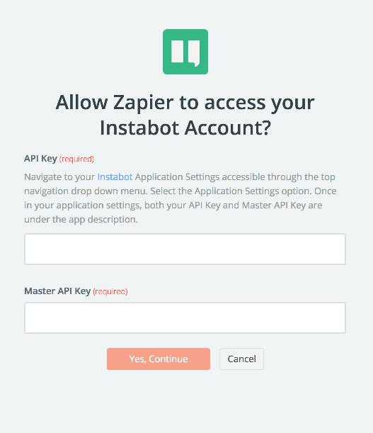 Instabot API Key