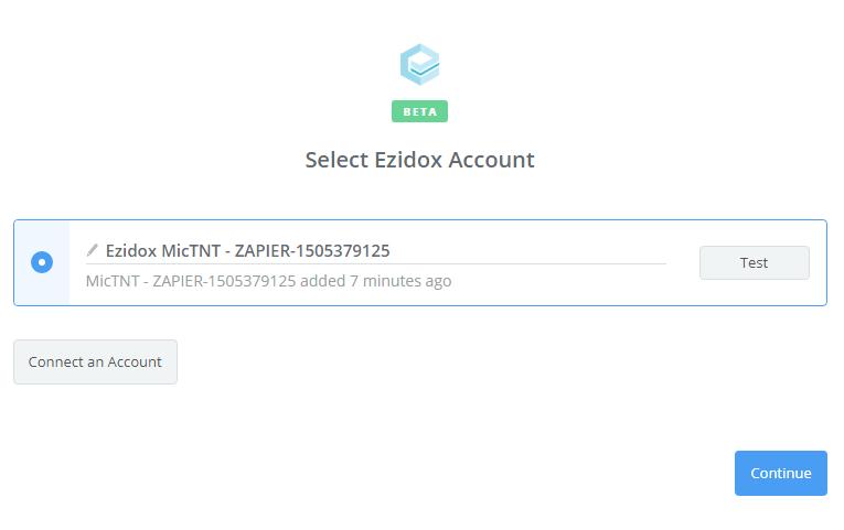 Ezidox connection successful