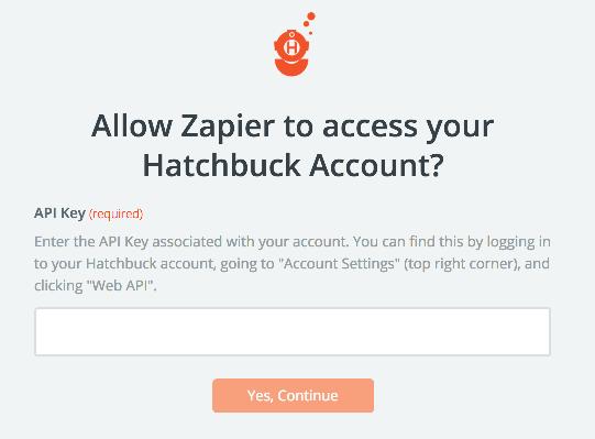 Hatchbuck API Key
