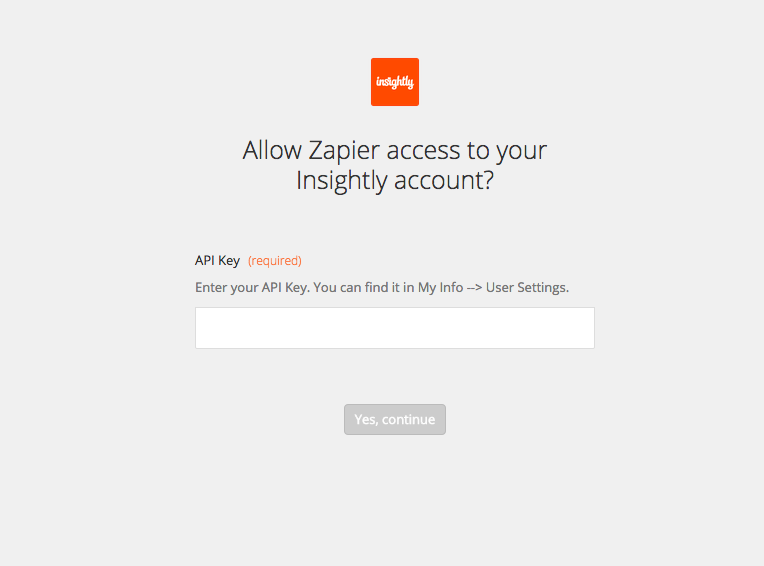 Insightly Integrations on Zapier - Integration Help