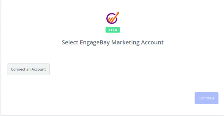 Click to connect  EngageBay Marketing
