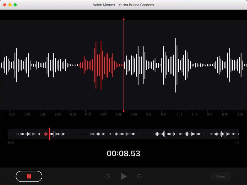 Voice Memos for Mac