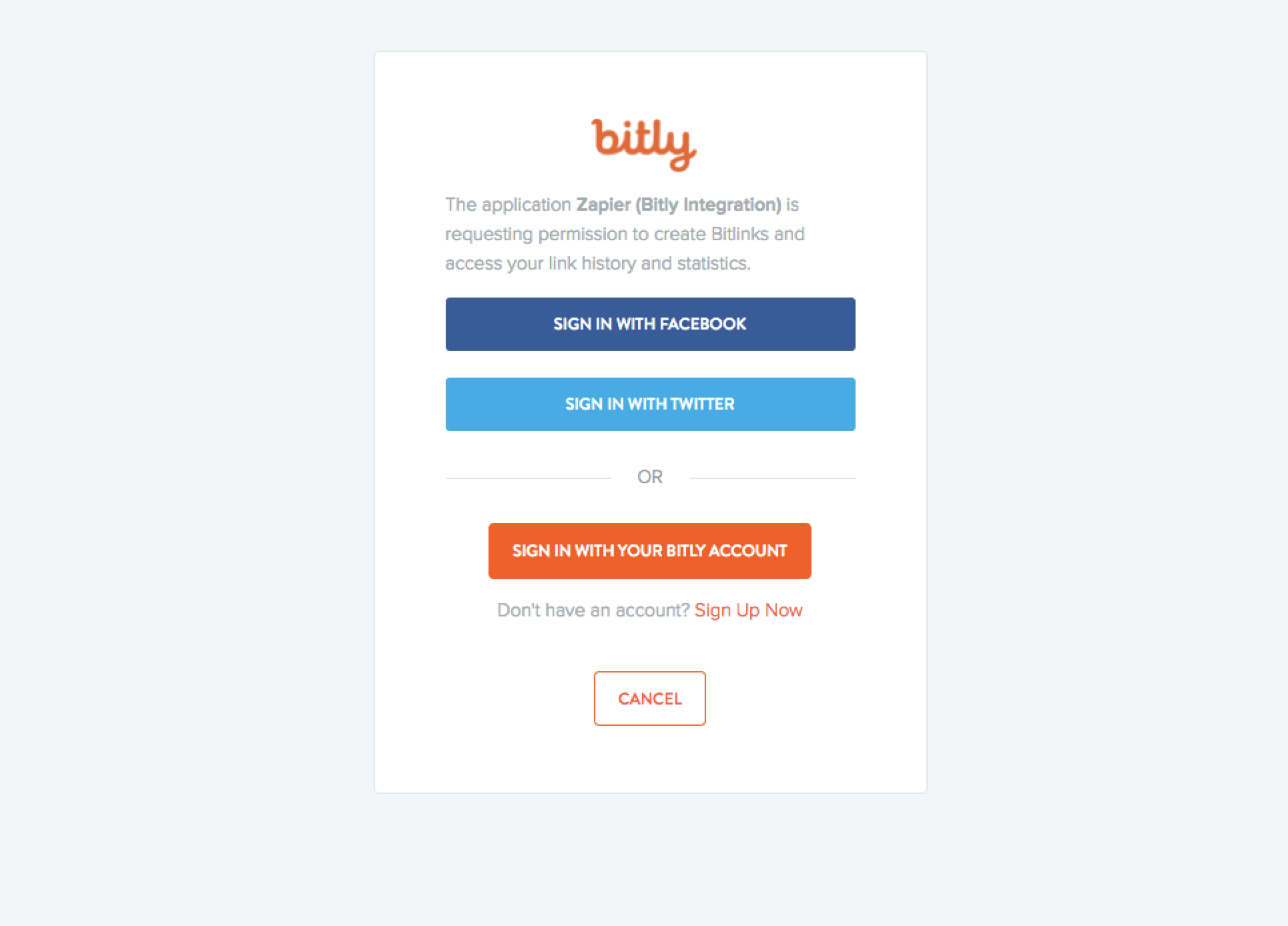 Login to Bitly