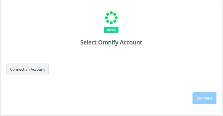 Click to connect Omnify