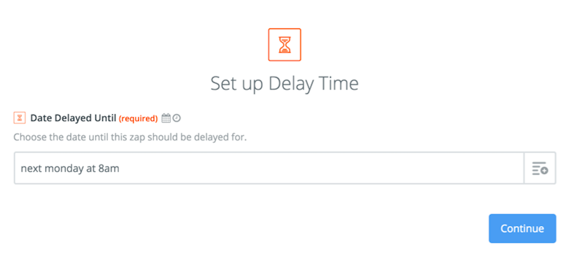 delay for static