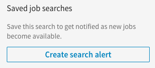 Save LinkedIn Searches