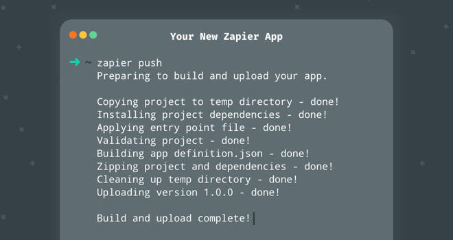Introducing Zapier's CLI