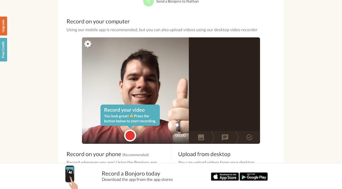 Bonjoro Screenshot
