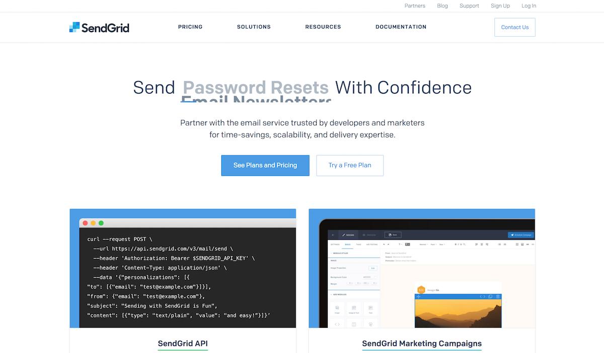 SendGrid Screenshot Examples & Demo Videos   Zapier