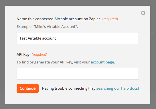 Airtable - Integration Help & Support | Zapier