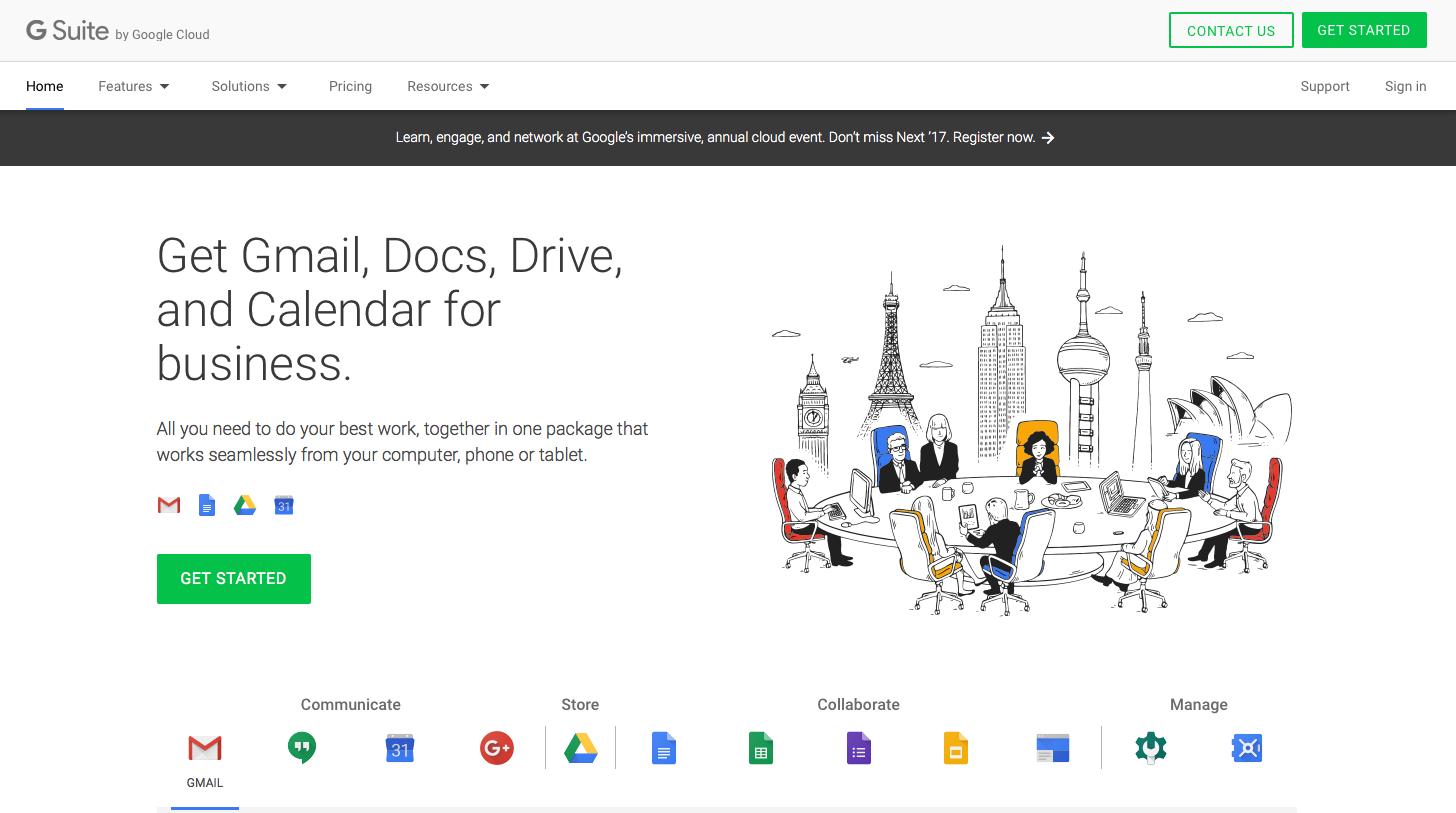 how to set up g suite for your previously called google apps for business g suite is the business version of everything google offers