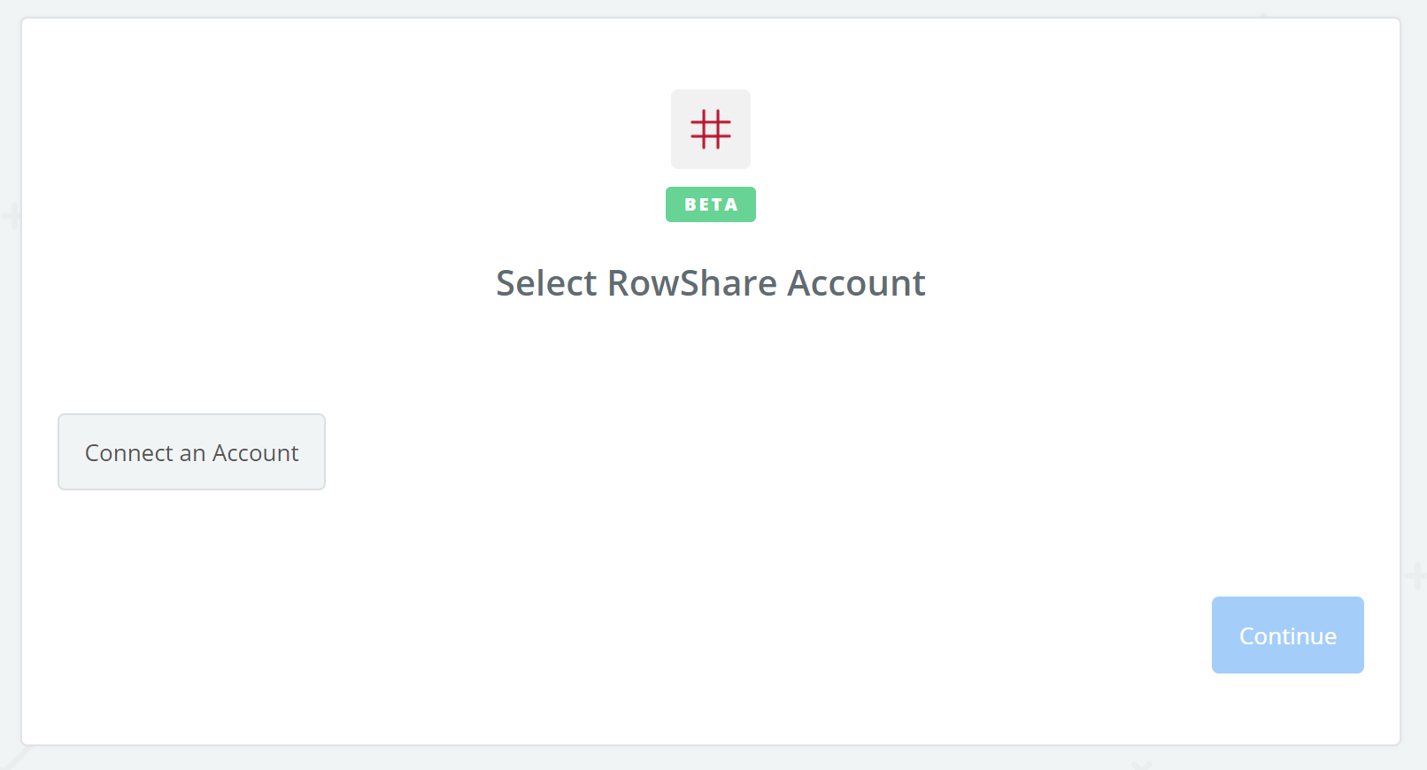 Click to connect RowShare