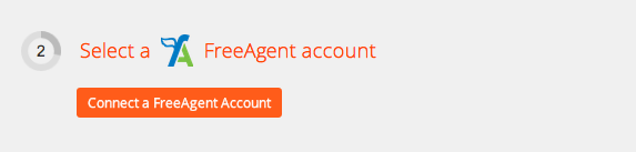 Click to add a FreeAgent account