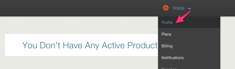 Sprintly Account Settings